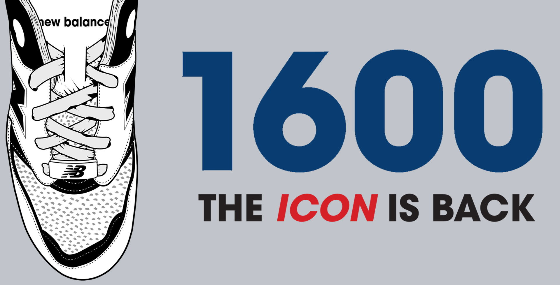 605b1421361 Todo mundo que viveu os anos 90 e ama New Balance conhece o 1600. A  nostalgia e o moderno trouxeram esse ícone de volta ao Brasil.